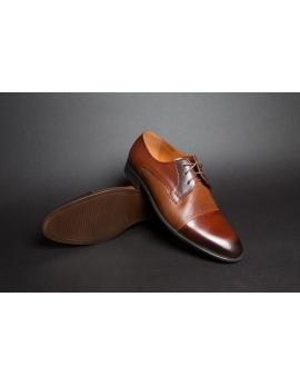 Pánske elegantné topánky hnede