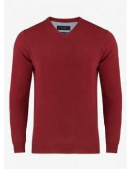 Červený elegantný sveter