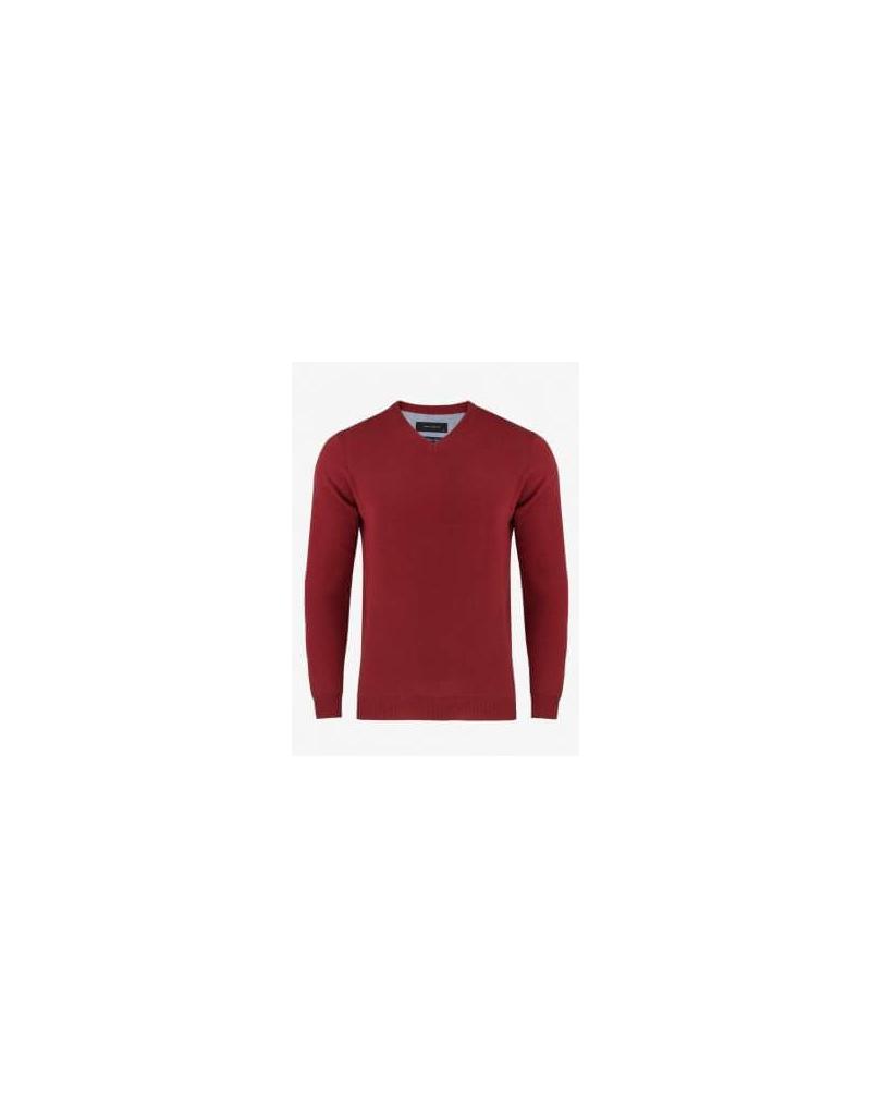 a65246ee35ad Červený elegantný sveter