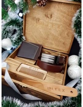 4-dielna Luxusná pánska darčeková sada H10