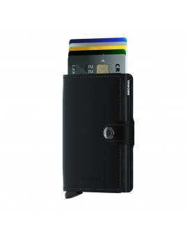 Peňaženka Secrid Čierna Miniwallet Matte