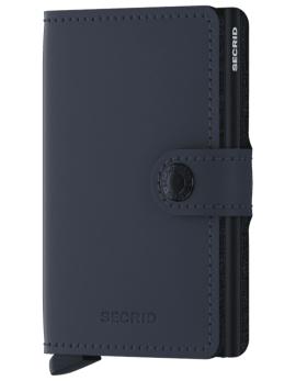 Peňaženka Secrid Miniwallet Matte Nightblue
