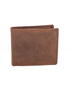 Pánska kožená peňaženka svetlohnedá