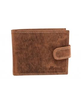 Pánska kožená peňaženka hneda