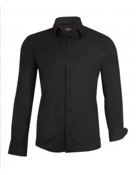 Pánska čierna košeľa Repablo