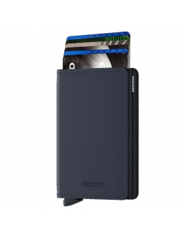 Secrid Slimwallet Matte - Night Blue