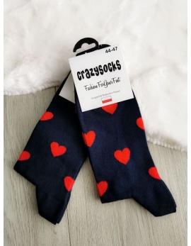 Crazy socks - love