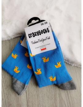 Crazy Socks ponožky - kačky