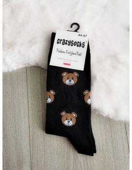 Crazy Socks ponožky - macko
