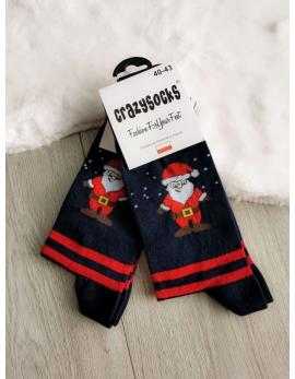 VIANOČNÉ Crazy Socks - Mikuláš