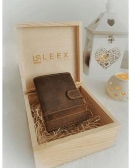 Pánska peňaženka v darčekovej krabičke S1