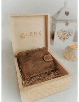 Pánska peňaženka v darčekovej krabičke S3