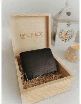Pánska peňaženka v darčekovej krabičke S11