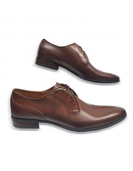 Kožená hneda elegantná pánska obuv LEEX Resident