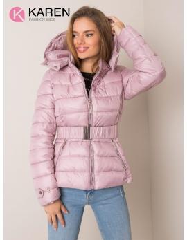 Dámska ružová zimná bunda ADELIA