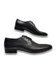 Kožená čierna elegantná pánska obuv LEEX Resident