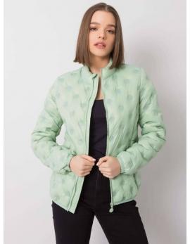 Prechodná dámska bunda zelená AURORE