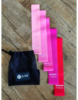 BOOTY BANDS K-FIT rose