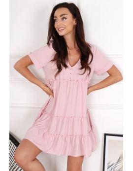 Dámske ružové šaty BG COUTURE