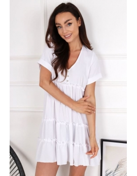 Dámske biele šaty BG COUTURE