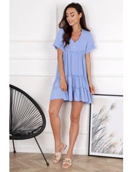 Dámske šaty BG COUTURE baby blue