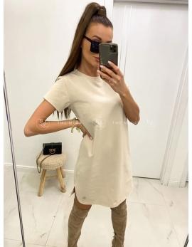 Dámske biele krátke šaty CLASICS