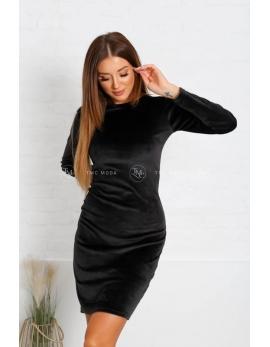 Čierne dámske šaty LETTI