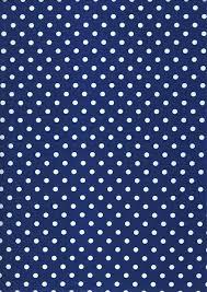 Tmavo modrá s bodkami